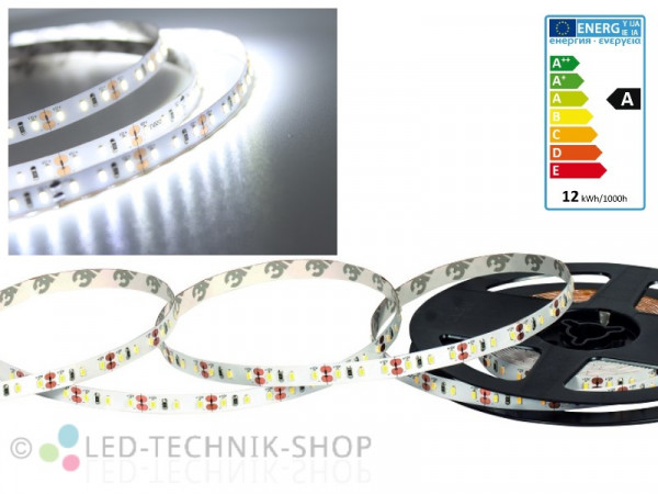 LED Strip 12V 3014-120 IP20 100cm kaltweiss