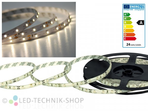 LED Strip 12V 3528-60 IP20 500cm neutralweiss
