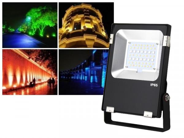 Mi-Light Profi LED Fluter 20W RGB+CCT FUTT04