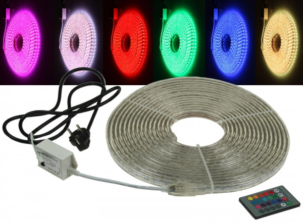 "230V LED Strip ""RGB-PRO"" IP44 10m"