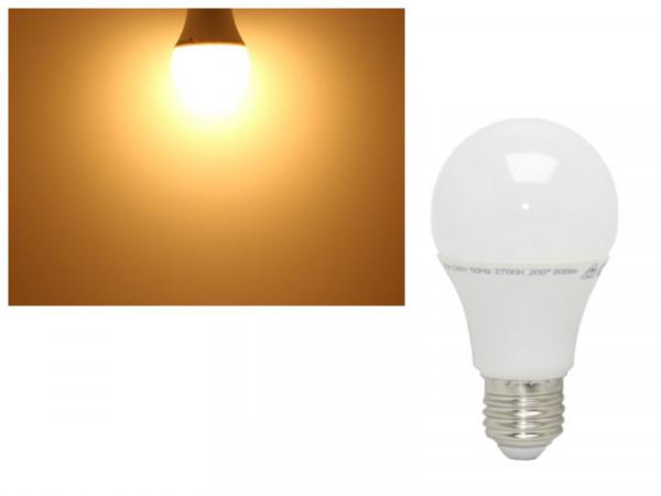 LED Lampe E27 10W 806 Lumen warmweiss