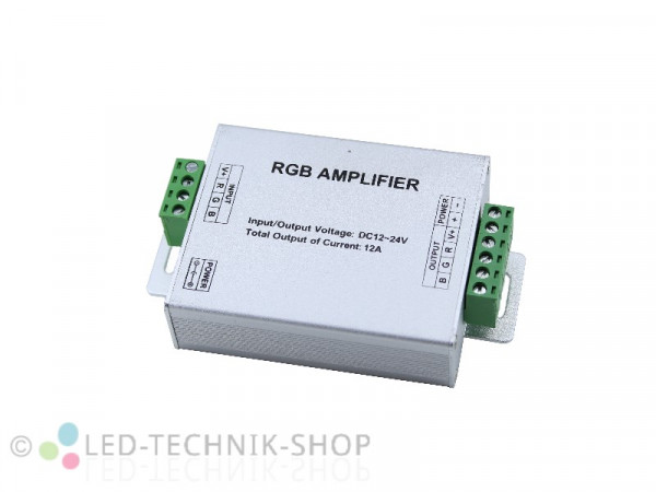 RGB LED Amplifier Repeater 12-24V 12A