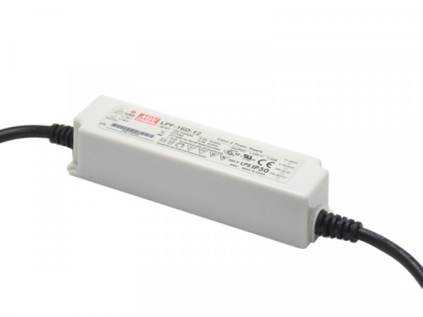 MeanWell LED Trafo 12V 16W dimmbar