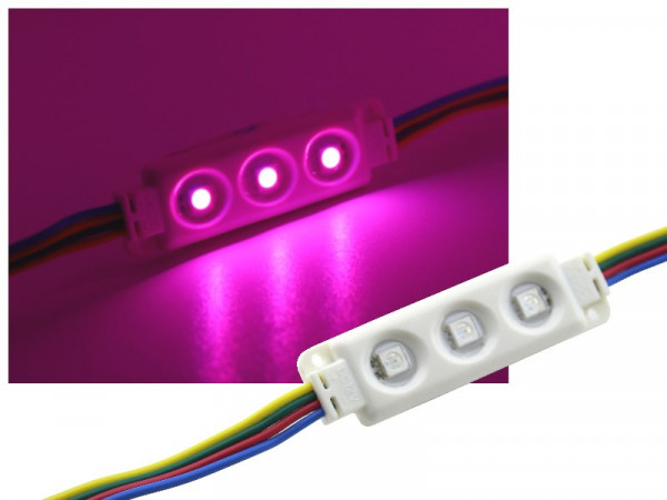 LED Modul 3-LED IP65 RGB