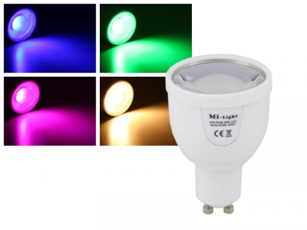 Mi-Light Smart LED GU10 5W RGB+WW FUT018 Leuchtmittel