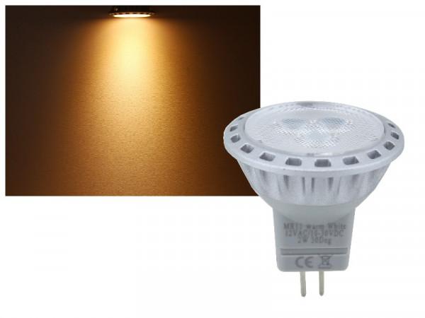 LED Leuchtmittel MR11 2W dimmbar 1