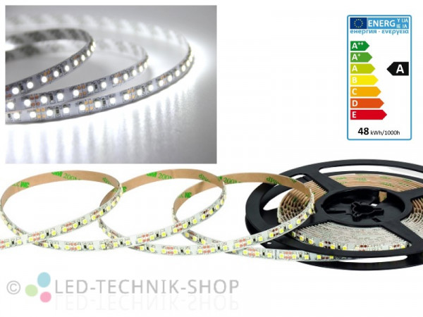 LED Strip 12V 3528-120 IP20 500cm kaltweiss