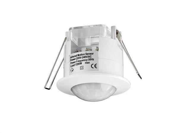 LED Infrarot Bewegungsmelder Einbau