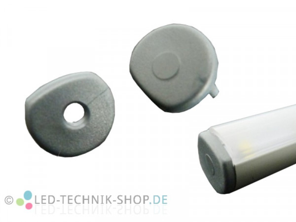 Endkappen für Alu LED Profil LTS-17