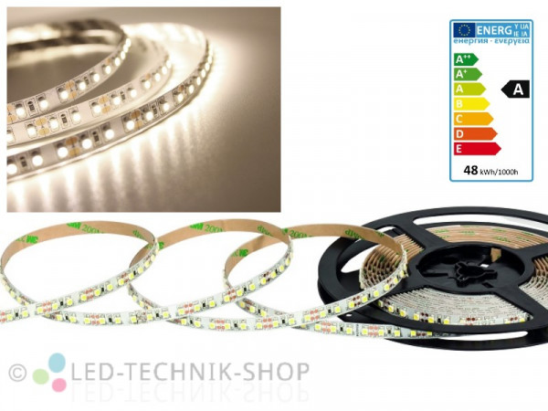 LED Strip 12V 3528-120 IP20 500cm neutralweiss