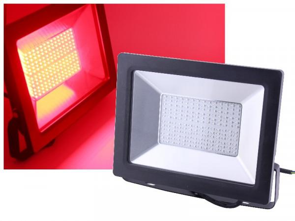 LED Flutlichtstrahler 100W rot
