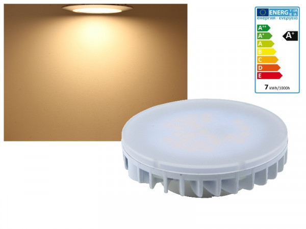 LED Leuchtmittel GX53 7W warmweiss
