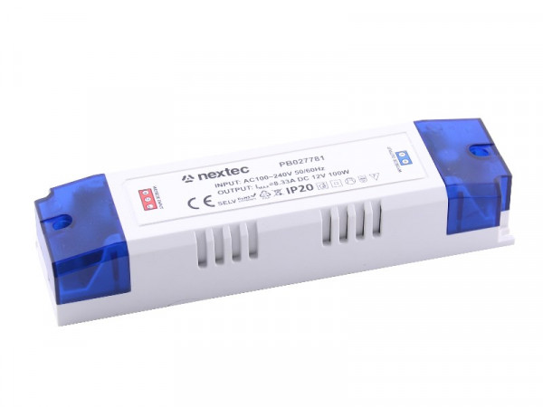Nextec LED Trafo Netzteil 12V 8,33A 100W