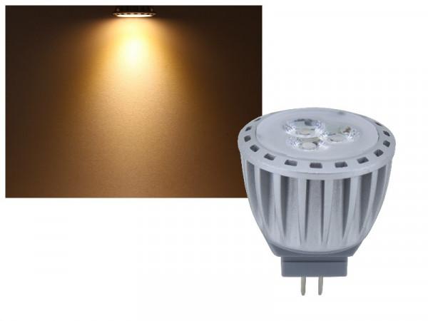 LED Strahler MR11 GU4 4W warmweiss