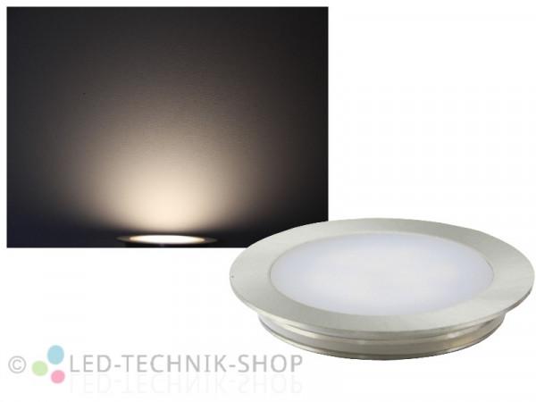 Edelstahl LED Einbauleuchte IP67 12V neutralweiss