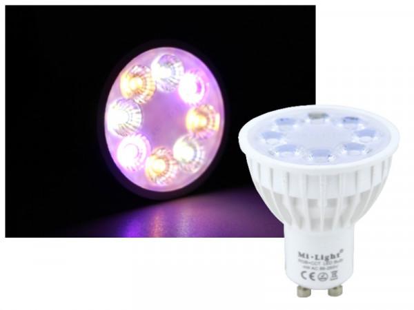 Mi-Light Smart LED GU10 4W RGB+CCT FUT103 Leuchtmittel