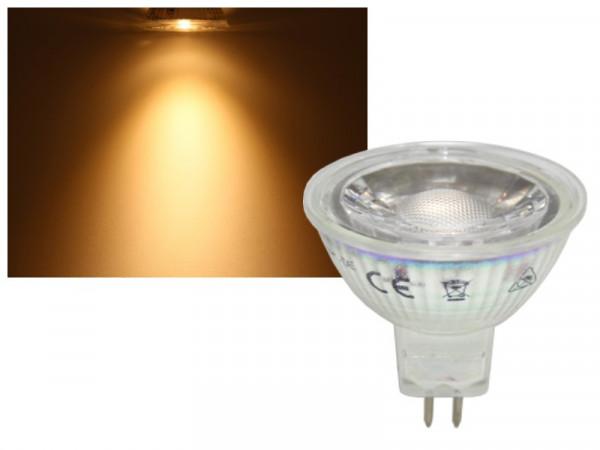 LED Strahler COB MR16 GU5.3 5W warmweiss