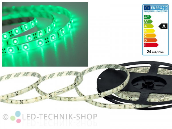 LED Strip 12V 3528-60 IP63 500cm grün