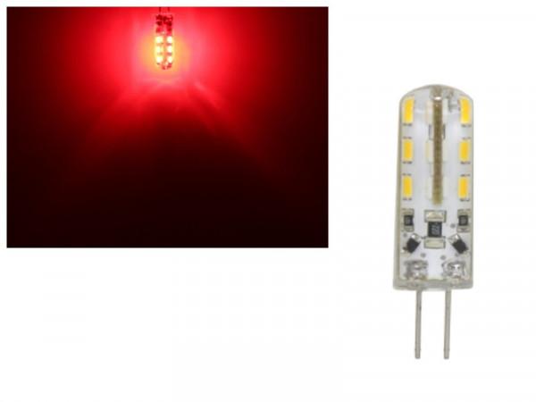 LED G4 24 SMD 1,5W rot