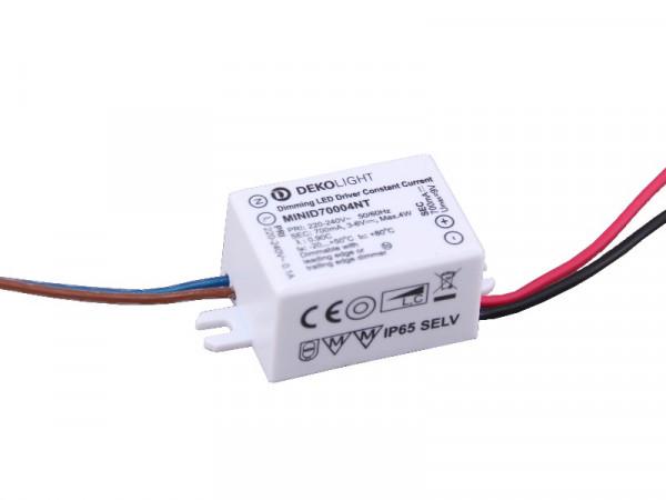 Mini LED Trafo IP65 700mA Konstantstrom 4W dimmbar