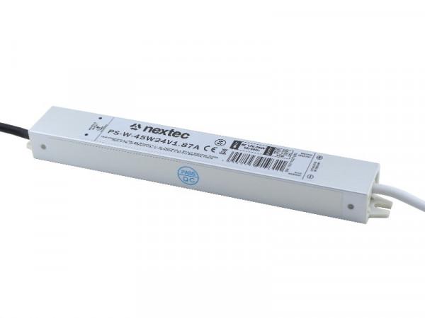 Nex tec LED Trafo IP67 wasserdicht 24V 45W