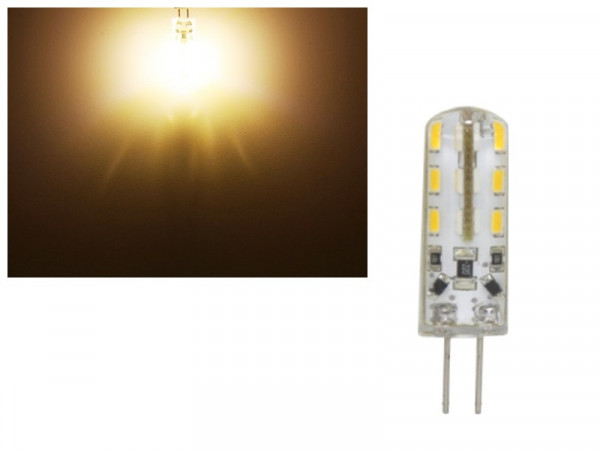 LED G4 24 SMD 1,5W warmweiss