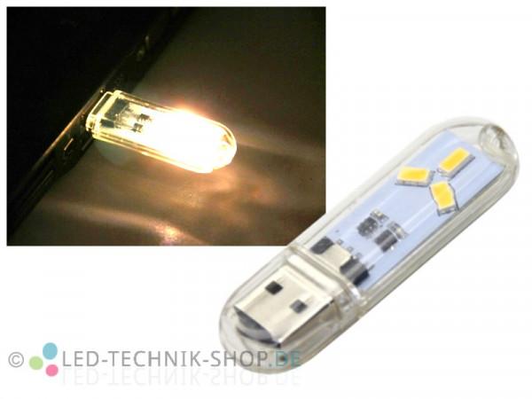 USB LED Leuchte Stick 1,5W 120lm