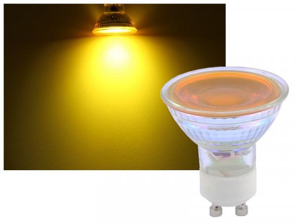 Omnilux GU10 LED Strahler 7W gelb 36°