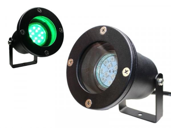 LED Gartenstrahler 1,5W grün 230V