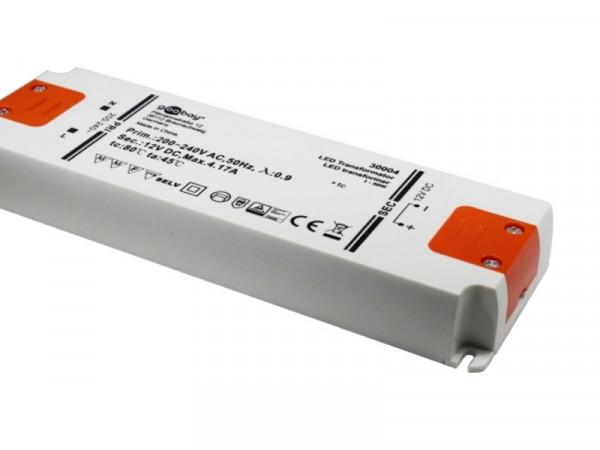 LED Trafo Slimline 12V 50W