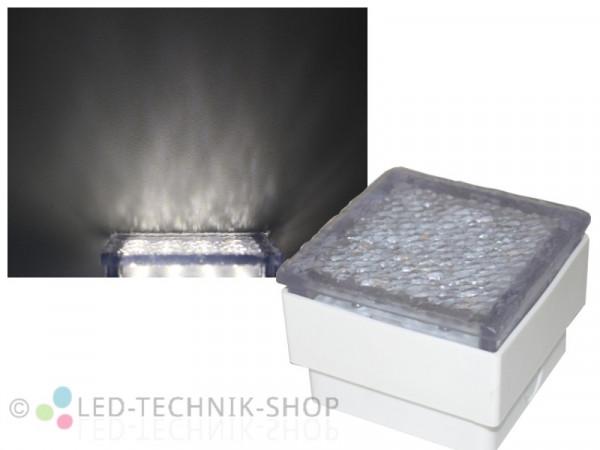 LED Bodeneinbauleuchte Pflasterstein 10x10 neutralweiss