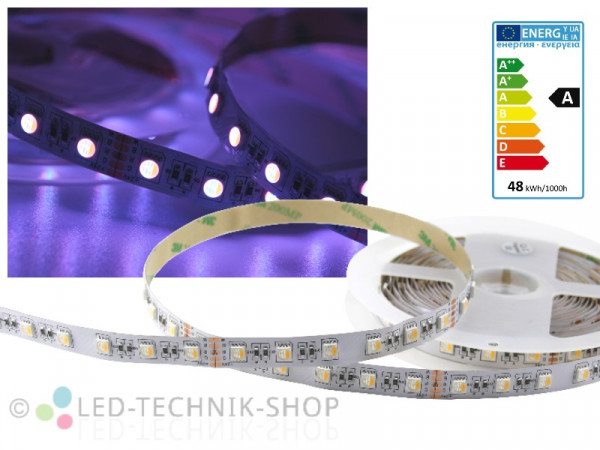 LED Strip RGB+WW 4in1 24V IP20 5m 300 LED