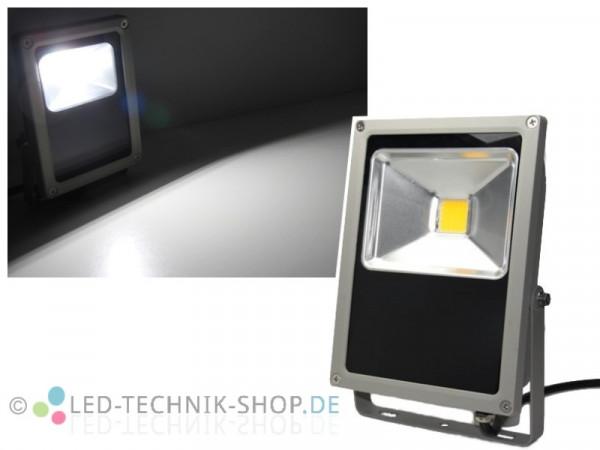 LED Fluter Strahler IP65 50W 3800lm kaltweiss