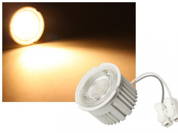 LED Modul MCOB 230V 5W warmweiss