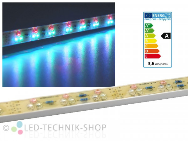 LED Leiste 50cm RGB 54 LED IP65 12V