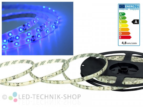 LED Strip 12V 3528-60 IP63 100cm blau