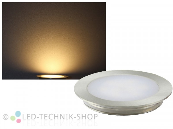 Edelstahl LED Einbauleuchte IP67 12V warmweiss