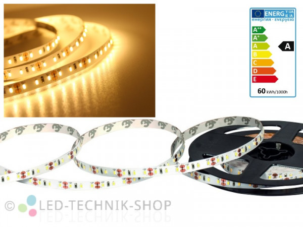 LED Strip 12V 3014-120 IP20 500cm warmweiss