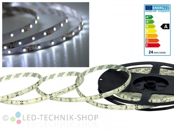 LED Strip 12V 3528-60 IP20 500cm kaltweiss