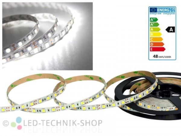 LED Strip 12V 5050-60 IP20 500cm kaltweiss