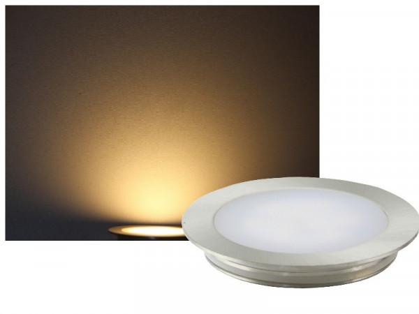 FINE Edelstahl LED Einbauleuchte rund IP67 12V warmweiss