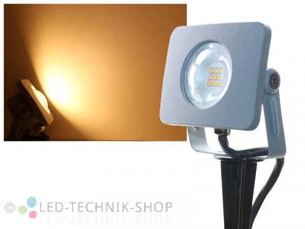 10W Slim Design LED Fluter mit Erdspieß