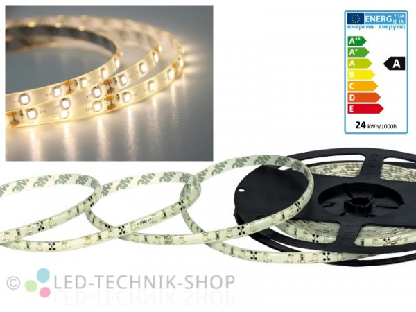 LED Strip 12V 3528-60 IP63 500cm warmweiss