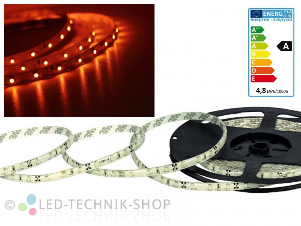 LED Strip 12V 3528-60 IP20 100cm orange