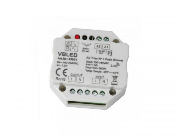 """Funk Dimmer Universal 100-240V """"INATUS"""""""