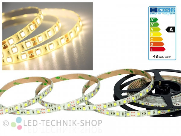 LED Strip 12V 5050-60 IP63 500cm warmweiss