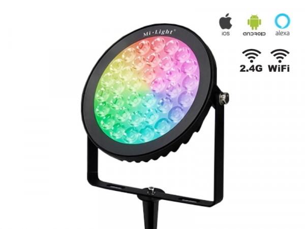 Mi-Light Smart LED 25W RGB+CCT Outdoor Strahler FUTC05