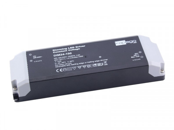 Kapego LED Trafo dimmbar 24V 100W