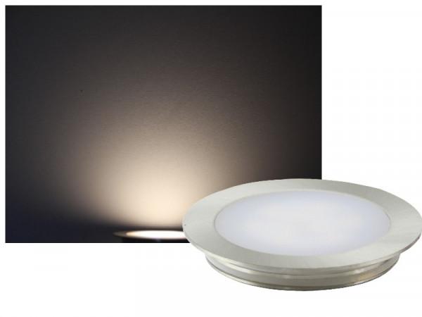 FINE Edelstahl LED Einbauleuchte rund IP67 12V neutralweiss