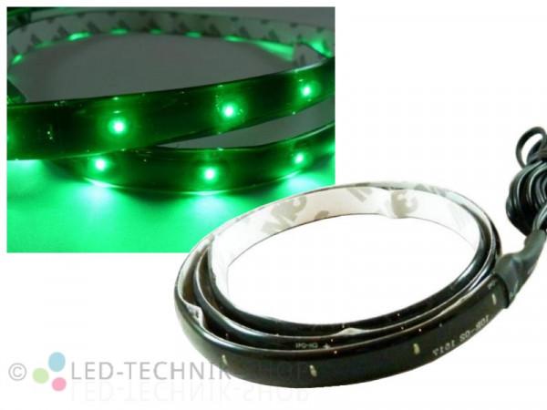 LED Black Strip IP65 60cm 30 LED grün